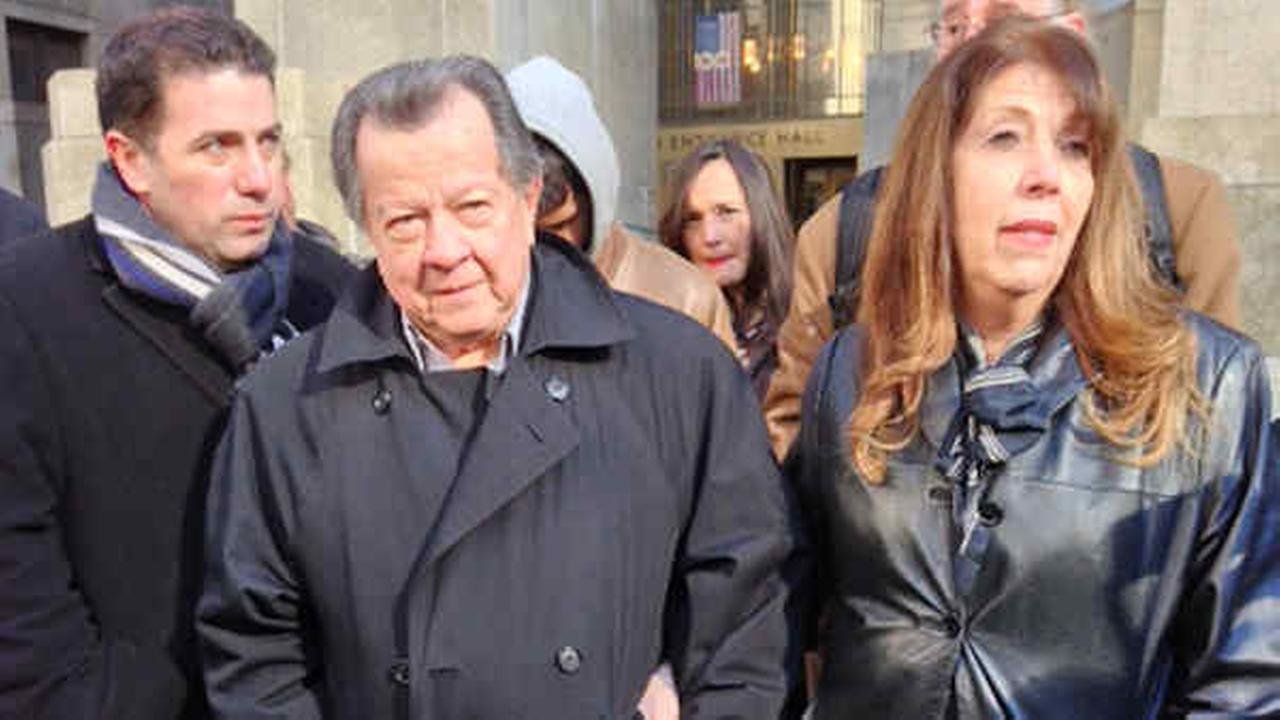 Carlos Hincapie and his wife Maria arrive for a news conference in 2013 in New York, where they discussed their son Johnny Hincapies bid for a retrial.