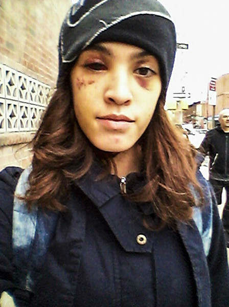 "> Oct 23 - CAUGHT-ON-CAMERA""Woman Beaten, Mugged In Crown Heights, Brooklyn""-by 3 men - Photo posted in BX Daily Bugle - news and headlines 