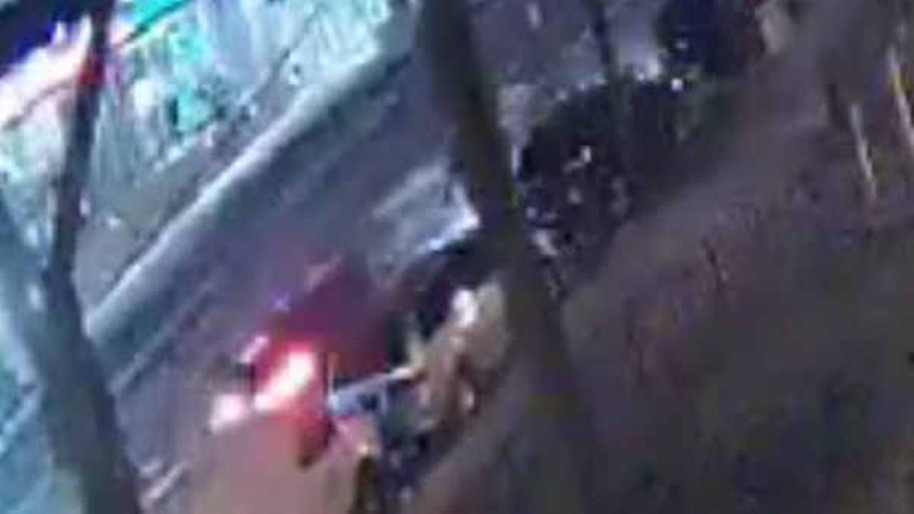Surveillance picture of vehicle suspected in fatal hit and run in College Point, Queens