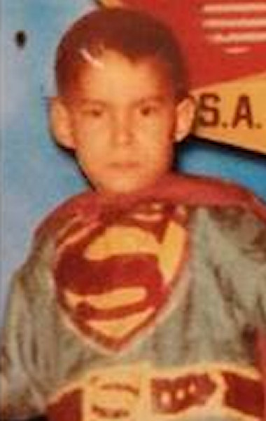 <div class='meta'><div class='origin-logo' data-origin='WABC'></div><span class='caption-text' data-credit=''>Here's anchor David Novarro dressed as &#34;Superman&#34; as a child on Halloween.</span></div>