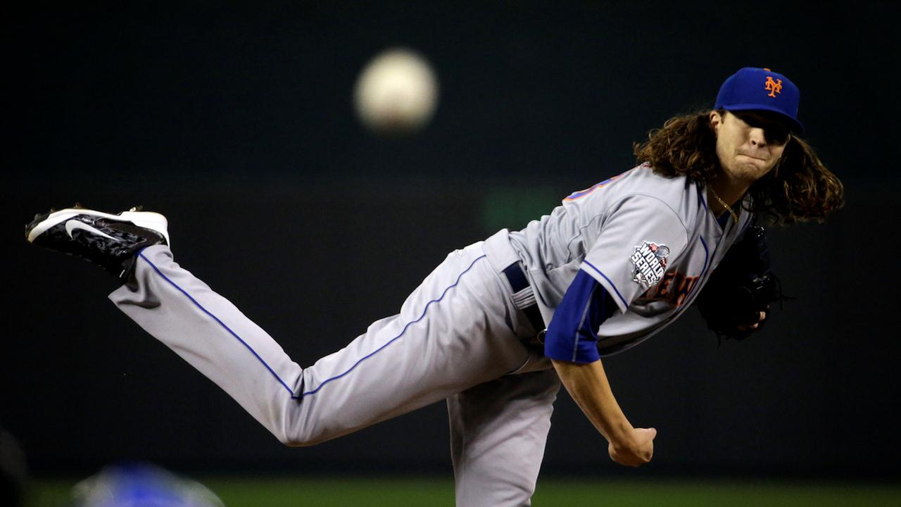 jason degrom new york mets world series