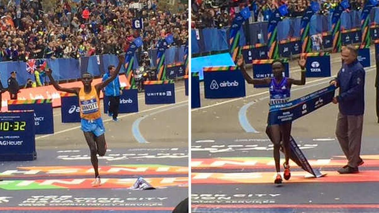 stanley biwott mary keitany new york city marathon