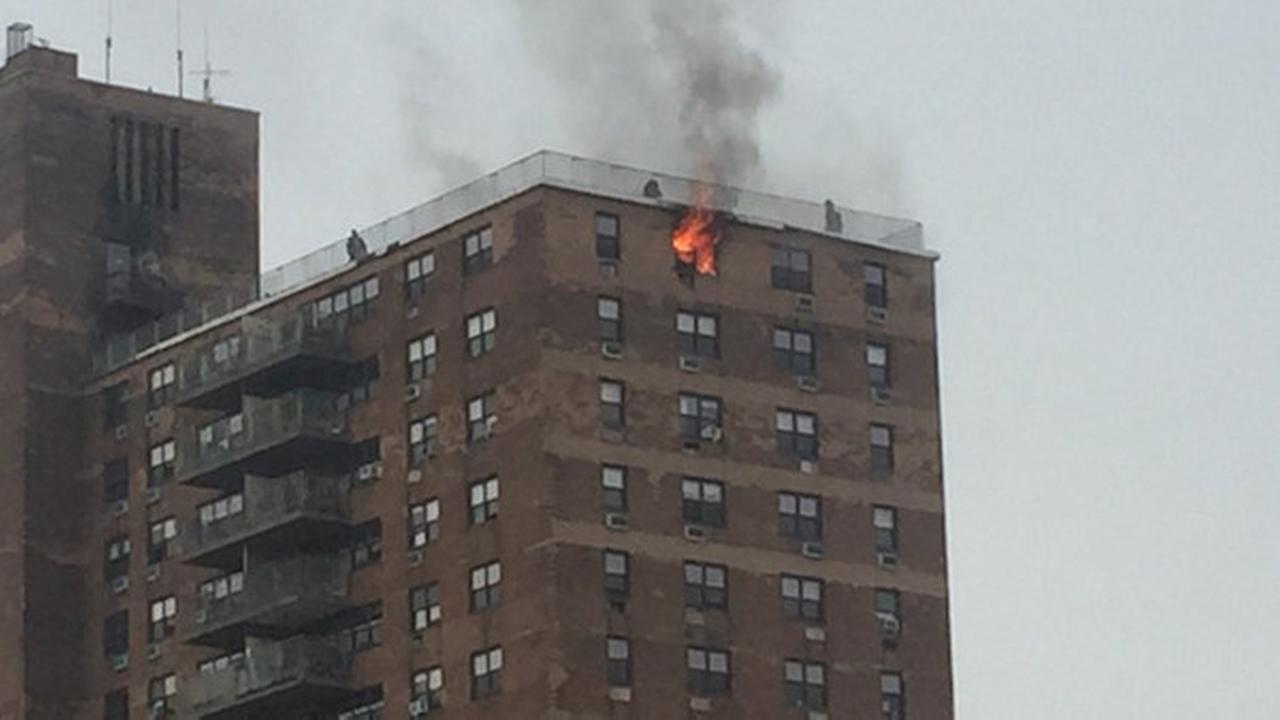 Fire Breaks Out In High Rise Apartment Building In Park Slope
