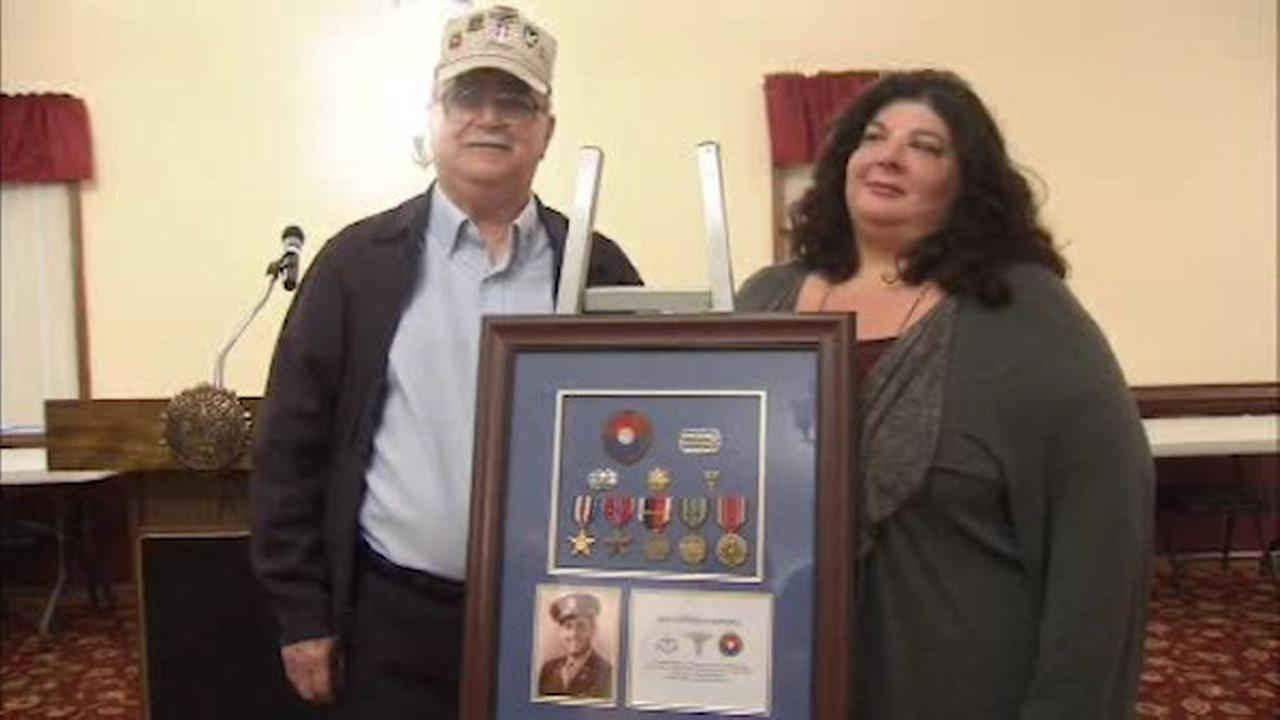 Veteran finds military medals at flea market, returns them to veteran's family in New Jersey