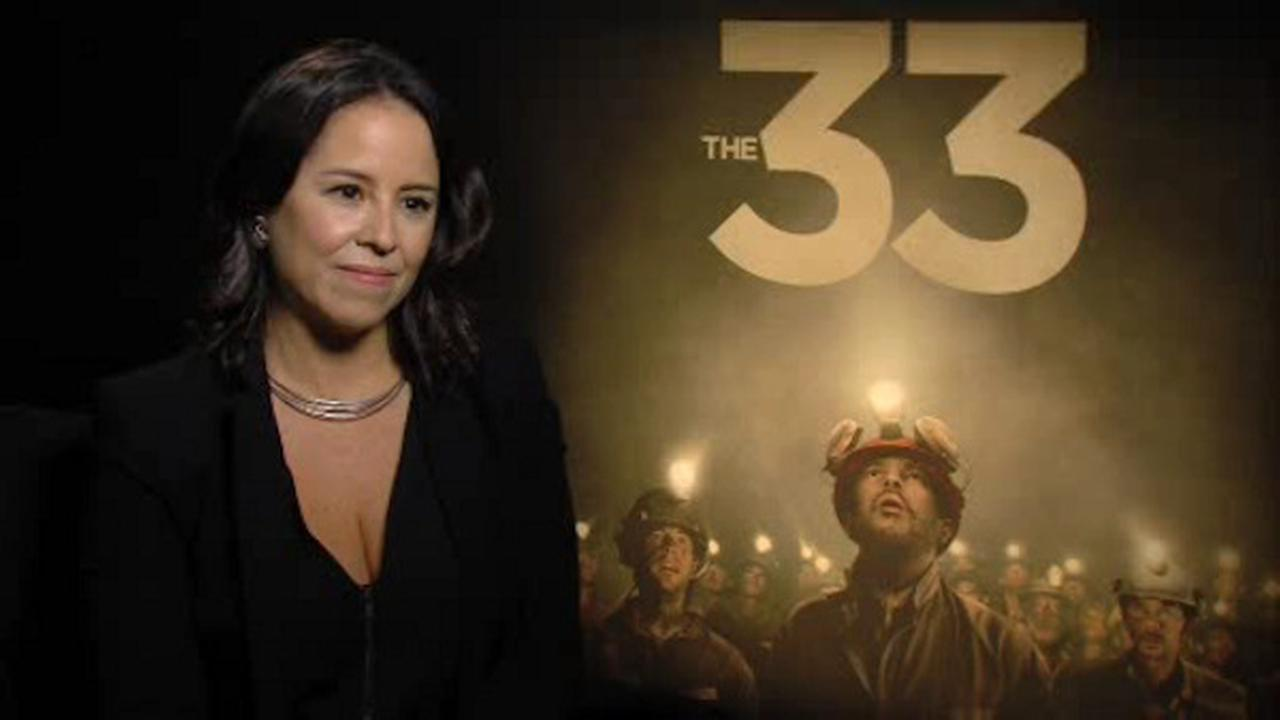 Sandy Kenyon sat down with Patricia Riggen, director of The 33.