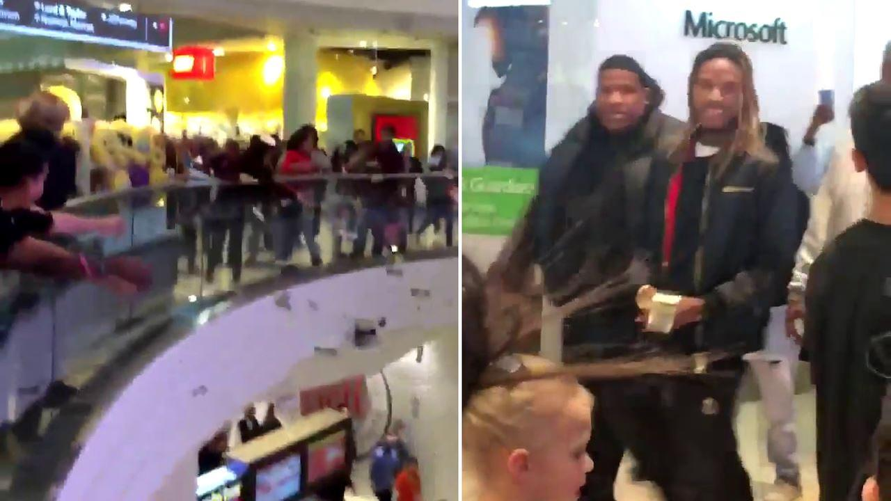 Rapper Fetty Wap throws thousands in cash over balcony at Garden State Plaza Mall