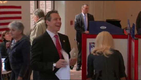 "<div class=""meta image-caption""><div class=""origin-logo origin-image ""><span></span></div><span class=""caption-text"">Governor Andrew Cuomo heads to the polls. He is an incumbent in the New York gubernatorial race.</span></div>"