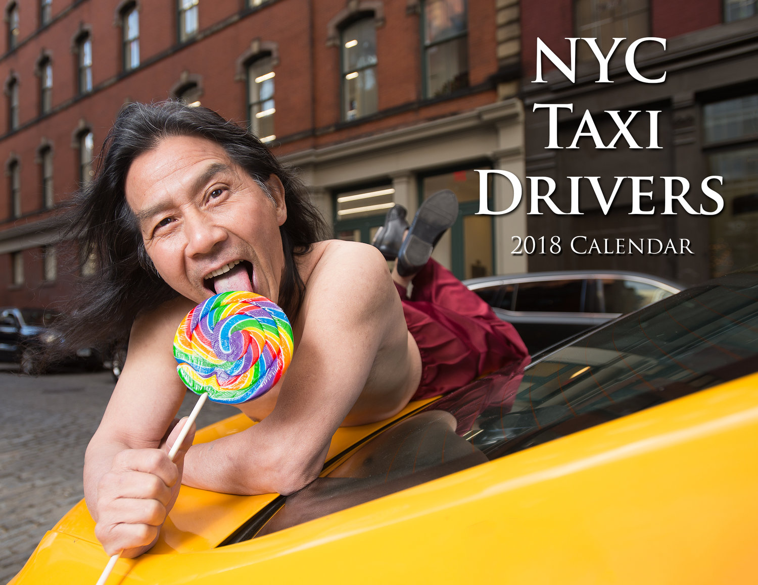 All hail! NYC taxi drivers go all out for 2018 calendar | abc13.com