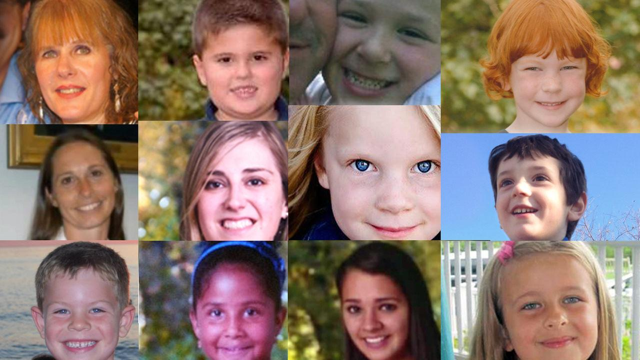 newtown sandy hook elementary school shooting victims