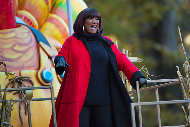 <div class='meta'><div class='origin-logo' data-origin='AP'></div><span class='caption-text' data-credit=''>Singer Patti LaBelle appears at the 91st Macy's Thanksgiving Day Parade on Thursday, Nov. 23, 2017, in New York. (Photo by Scott Roth/Invision/AP)</span></div>