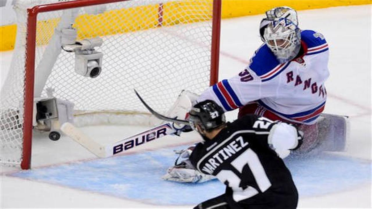 Kings beat Rangers 3-2 in double OT to win Stanley Cup