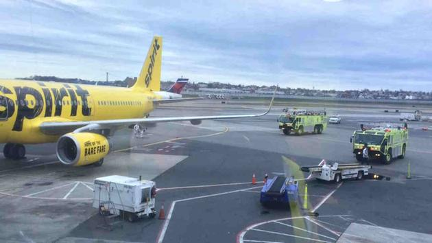 Flight evacuated at laguardia because of smoke social for Spirit airlines new york