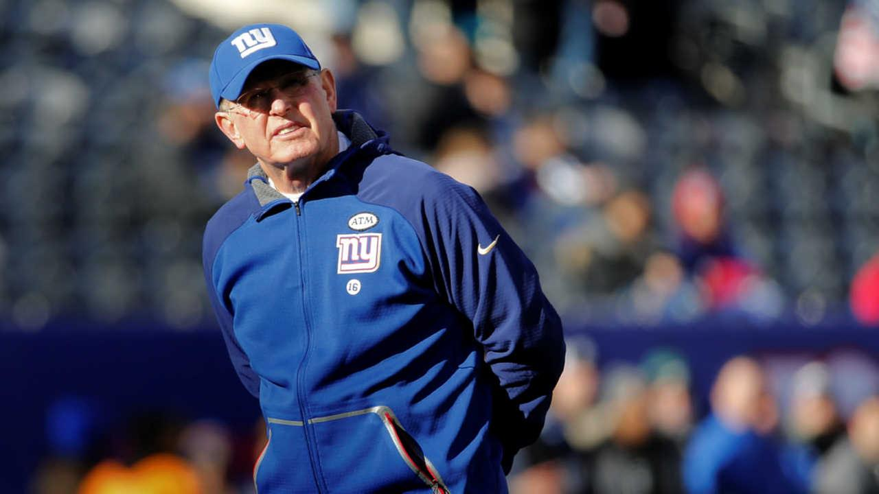 Giants suffer another loss in what may be Tom Coughlin's final game