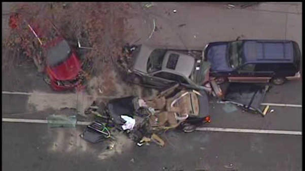 Driver killed after crashing into several parked cars in the Bronx