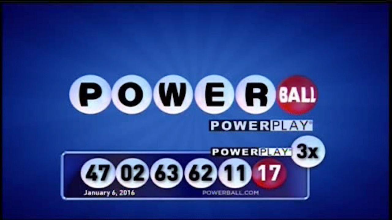 Winning numbers for Wednesday night's $524M Powerball drawing