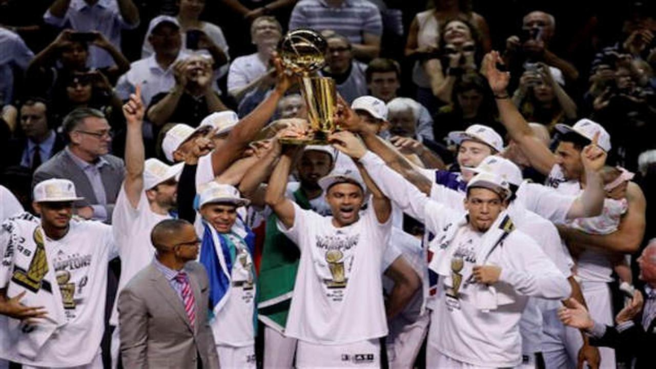 San Antonio Spurs beat Miami Heat 104-87 to win NBA Championship