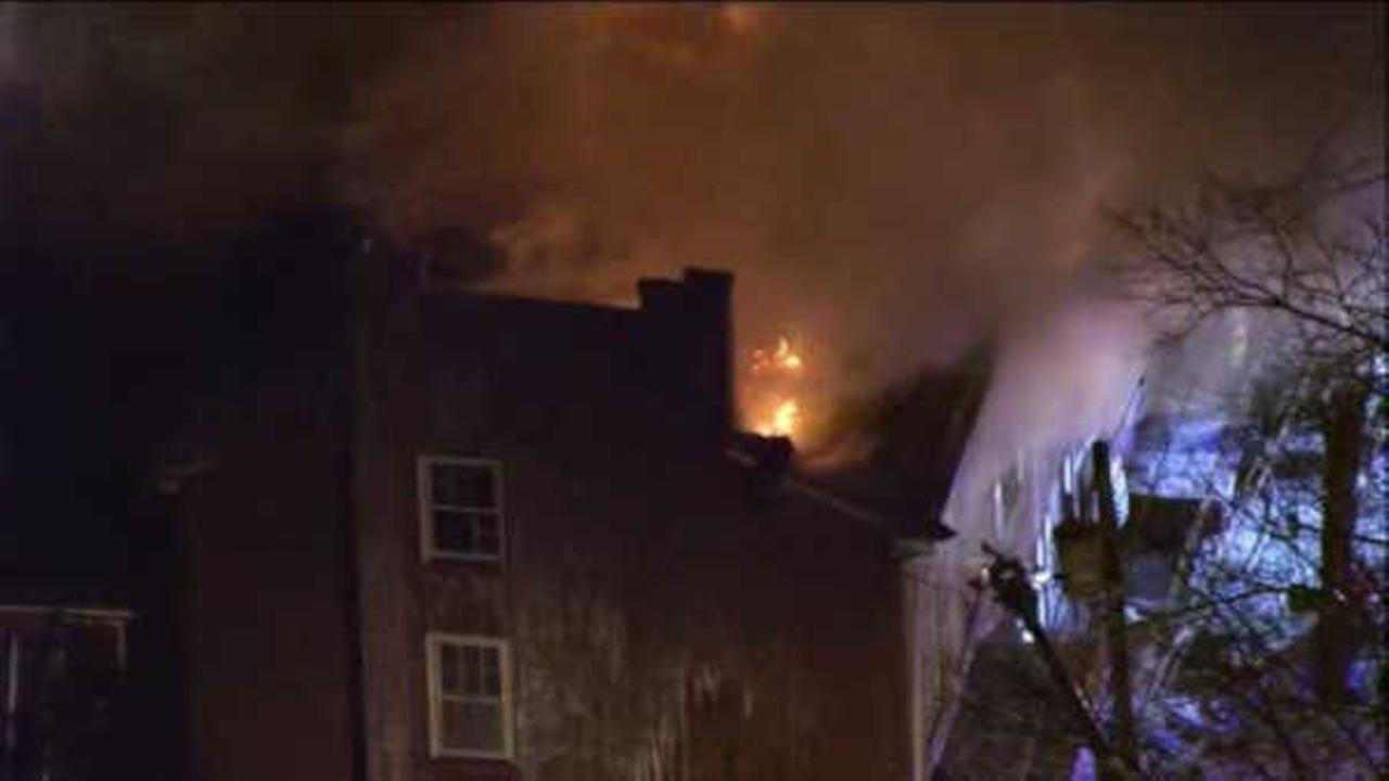 At Least 3 Injured in Massive House Fire in New Jersey