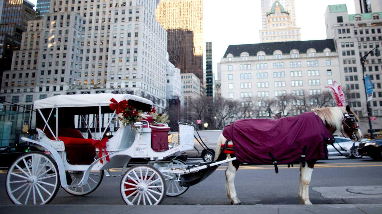NYC officials announce deal to save horse carriages