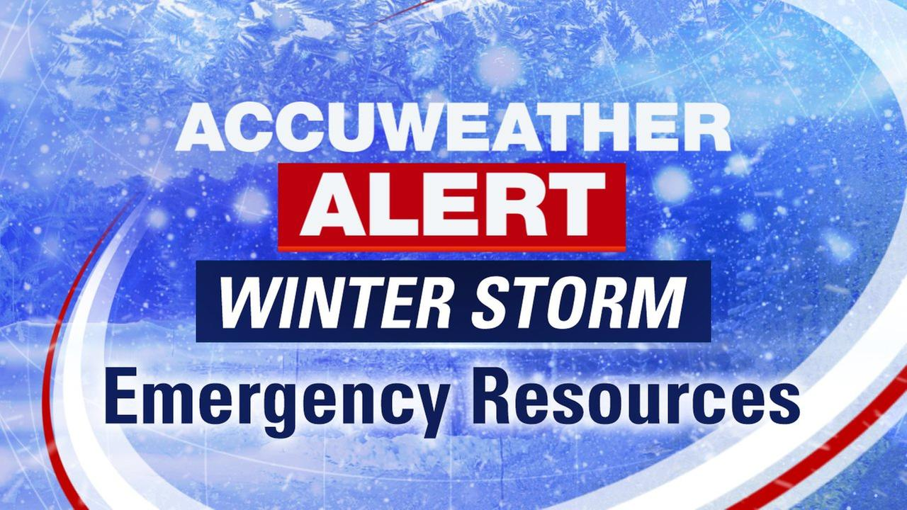 winter storm emergency resources