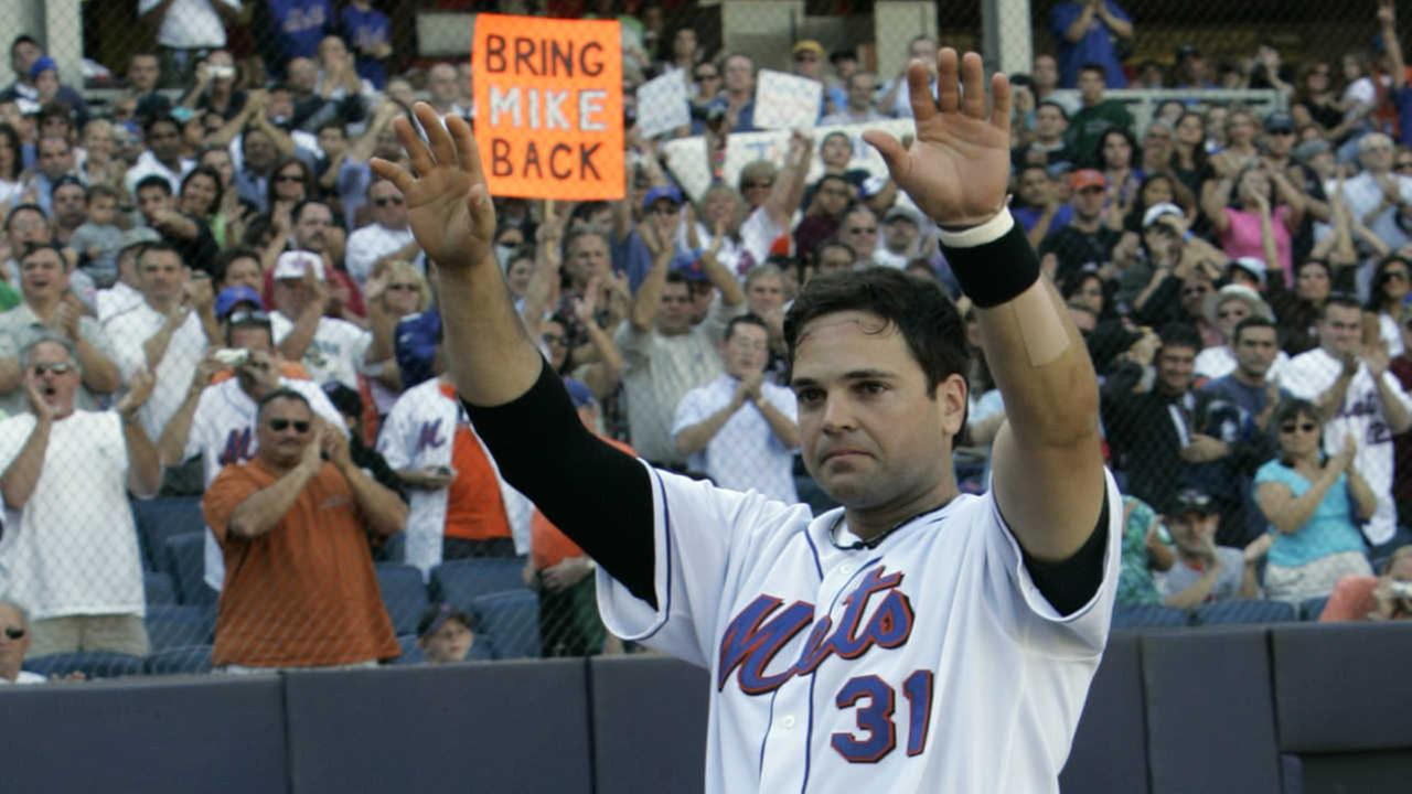 Mets to retire Mike Piazza's number 31 before game this summer