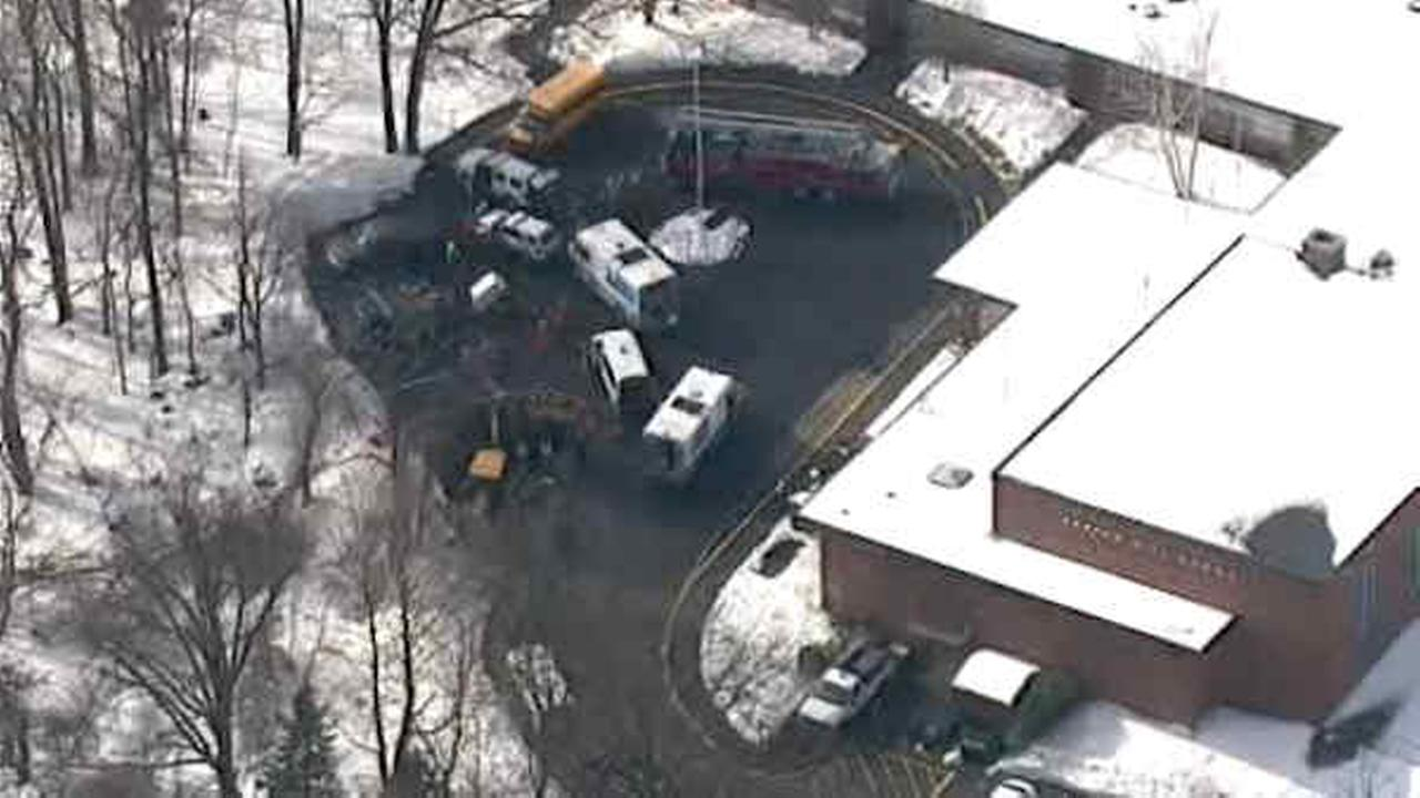 Tarrytown school evacuated after gas line ruptures; No injuries reported