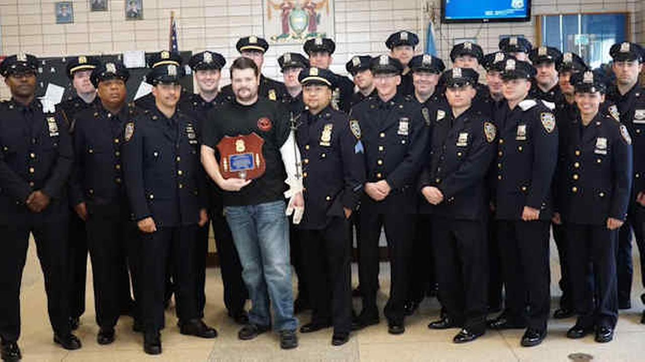NYPD officers travel to Philadelphia to support cop shot in ambush