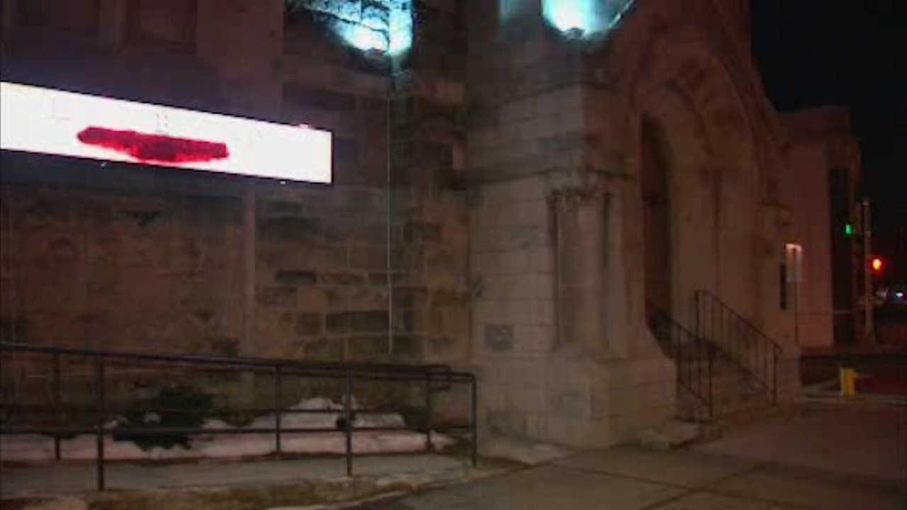 Burglar breaks into Newark church through hole in roof, steals food