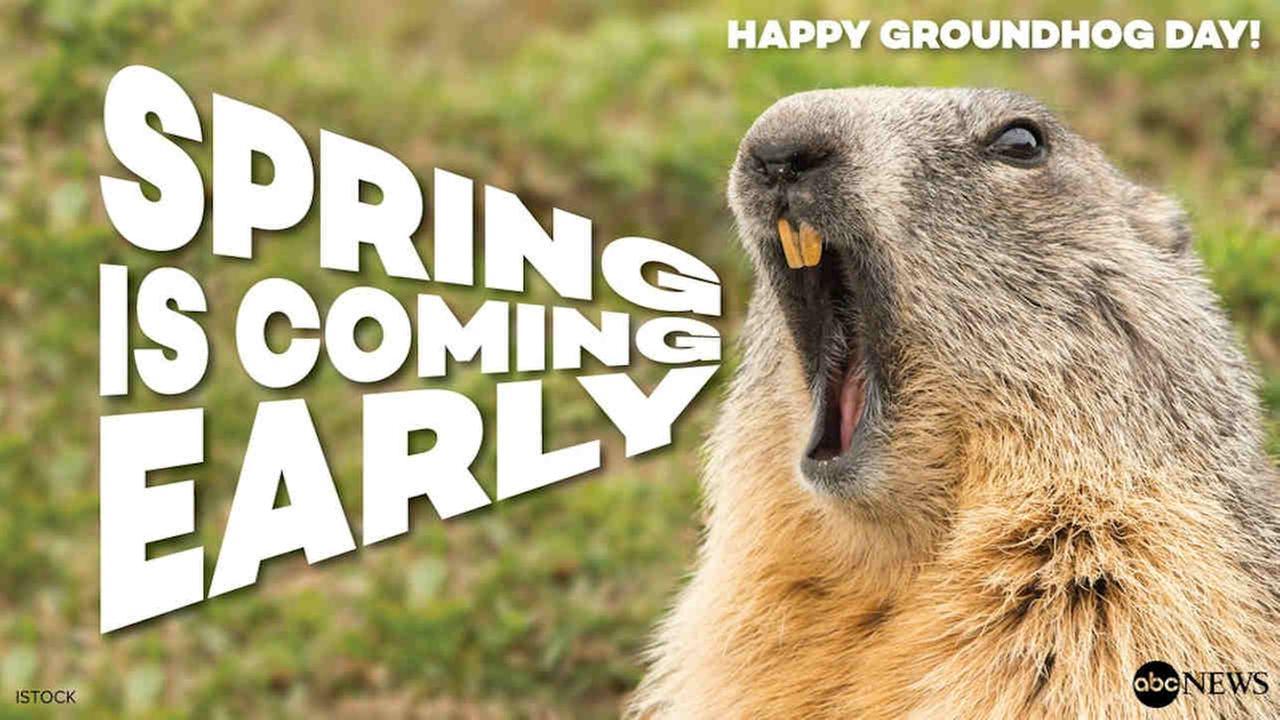 Staten Island Chuck, Punxsutawney Phil both predict early spring