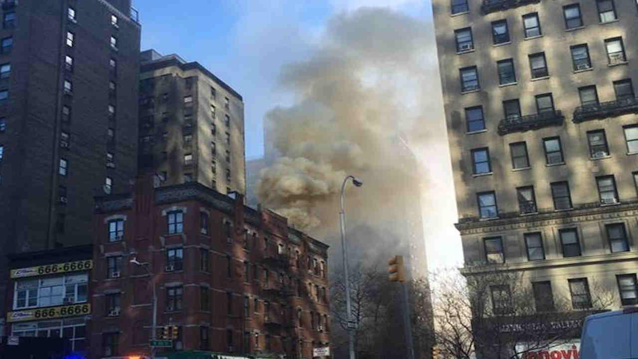 3-alarm fire brought under control in Upper West Side building