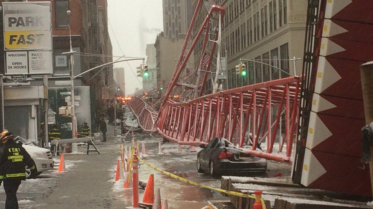 crane collapse tribeca