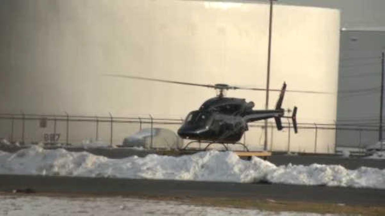 Helicopter at Linden Airport crashes, injuring 1