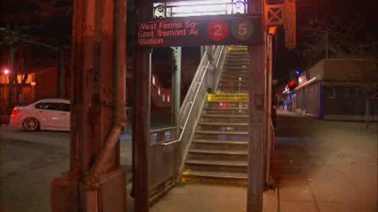Man slashed in cheek after dispute at Bronx subway station