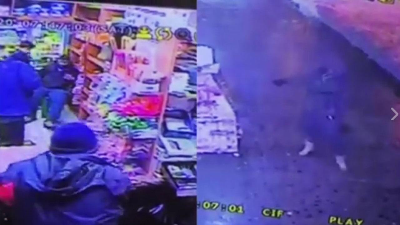 VIDEO: Man randomly fires into Harlem bodega