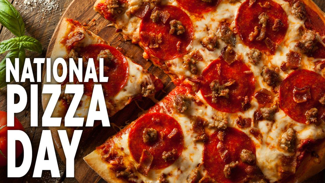 Here's your slice of New York City pizza for National Pizza Day