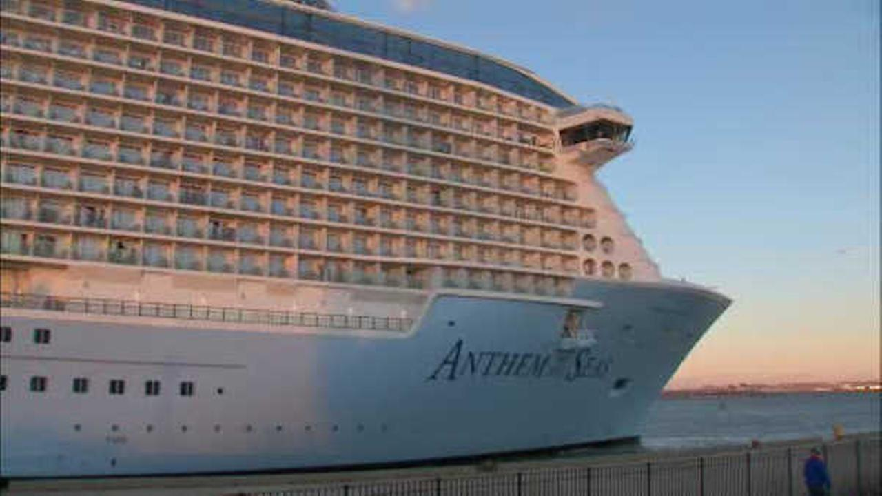 Royal Caribbean's Anthem of the Seas sets sail after undergoing repairs