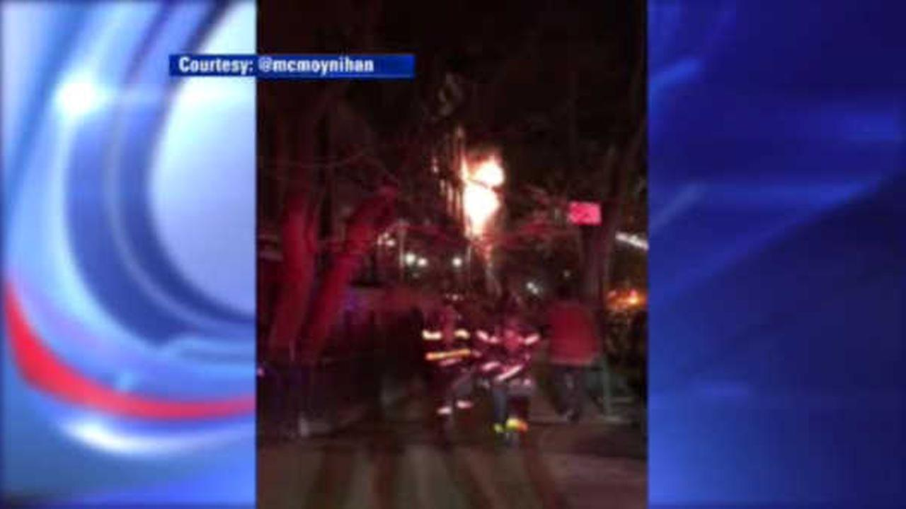 Firefighters battle bitter cold while tackling Fort Greene fire