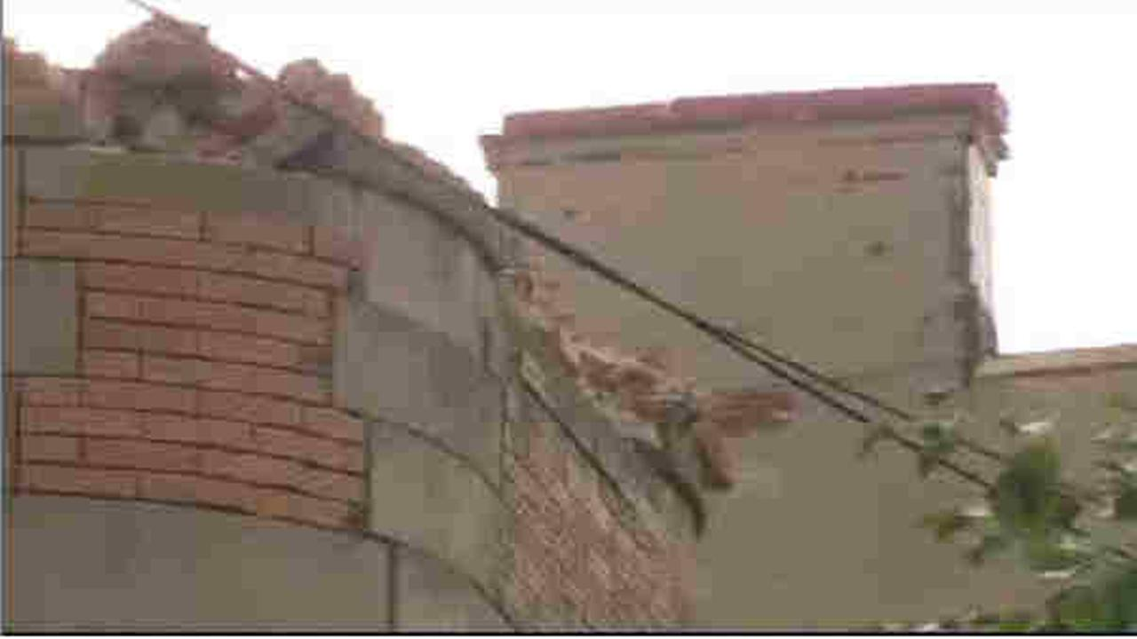 4 injured in West New York when building facade crumbles