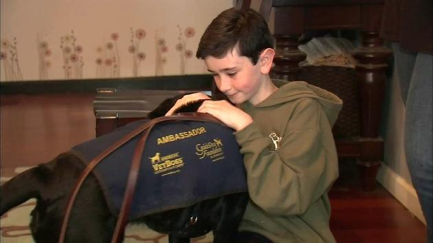 Meet the Long Island teen raising money for service dogs