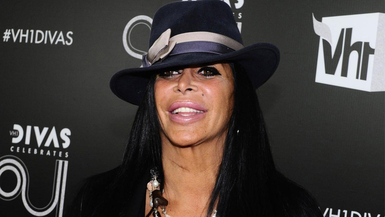 This Dec. 18, 2011 file photo shows Angela Raiola, better known as Big Ang, arriving at Vh1 Divas Celebrates Soul in New York.