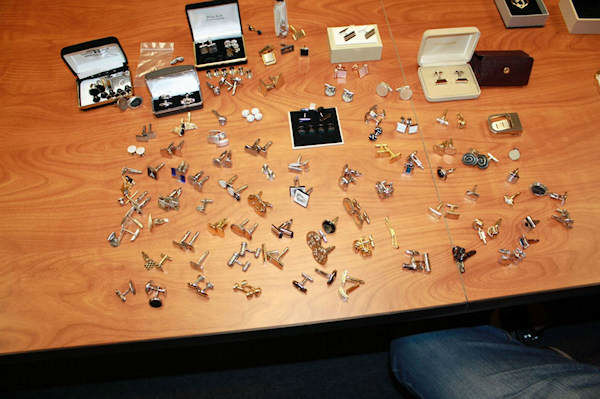 <div class='meta'><div class='origin-logo' data-origin='none'></div><span class='caption-text' data-credit='WABC Photo/ Little Silver Police'>These items and several more totaling more than a million dollars were found inside of 54-year-old Thomas Earls' storage unit in Little Silver, NJ.</span></div>