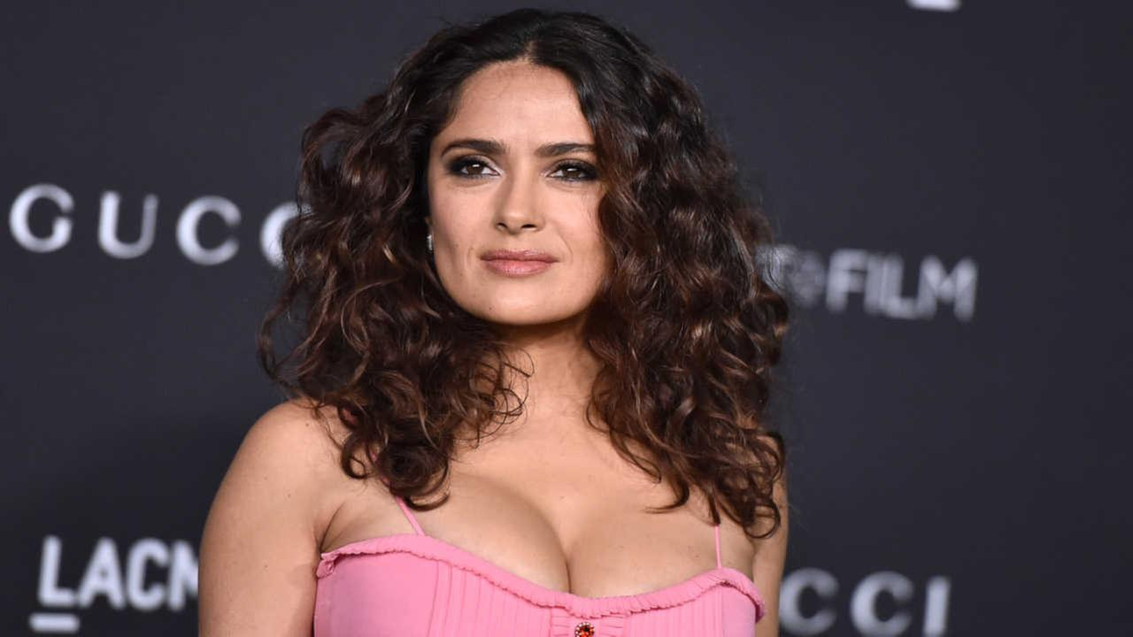 Actress Salma Hayek's dog found shot dead on Washington ranch