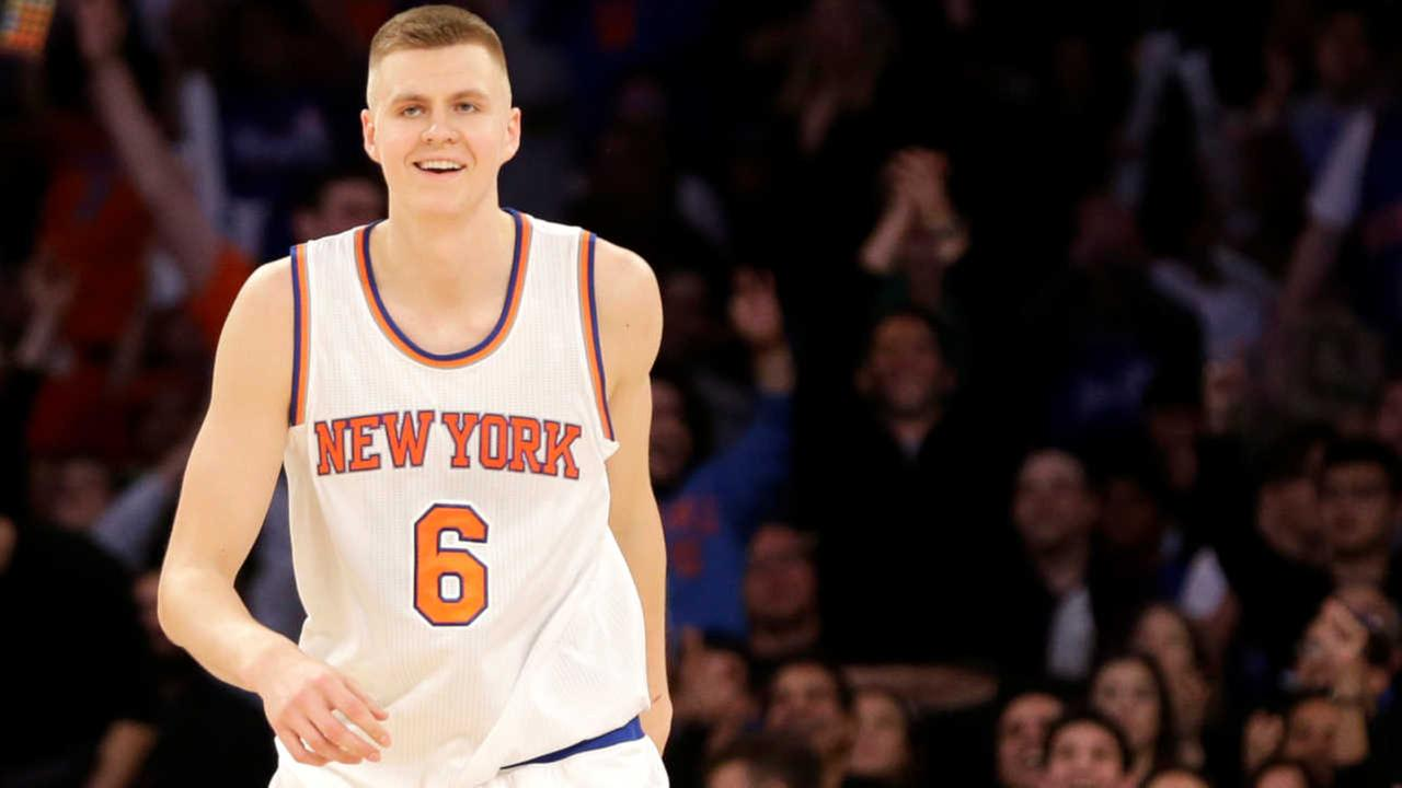 Knicks' Kristaps Porzingis says he will be unable to attend prom after teen brings sign to game