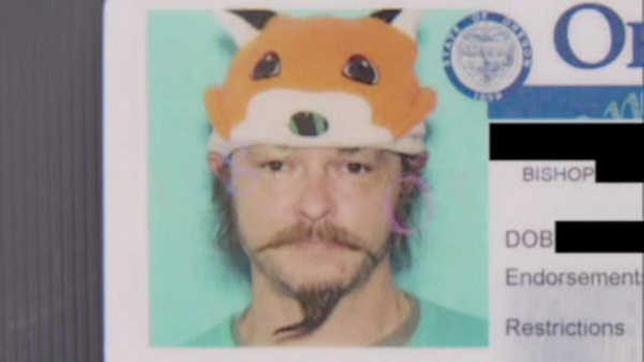 Oregon man says DMV denied his license renewal because he wore 'silly fox hat'
