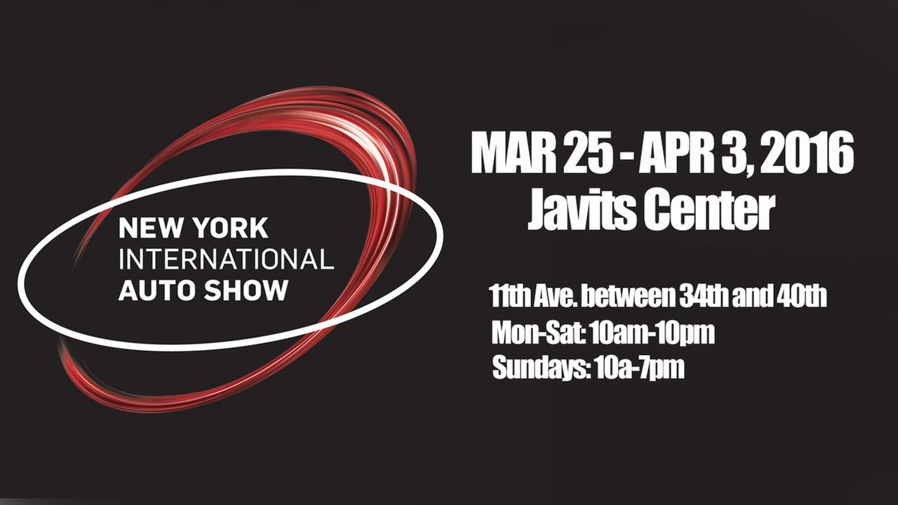 2016 New York Auto Show Events