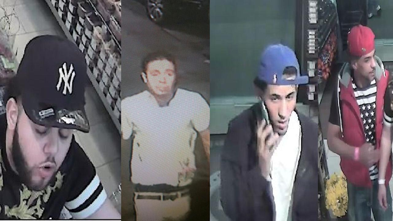 Police searching for 4 persons of interest in connection with East Village assault of 2 men