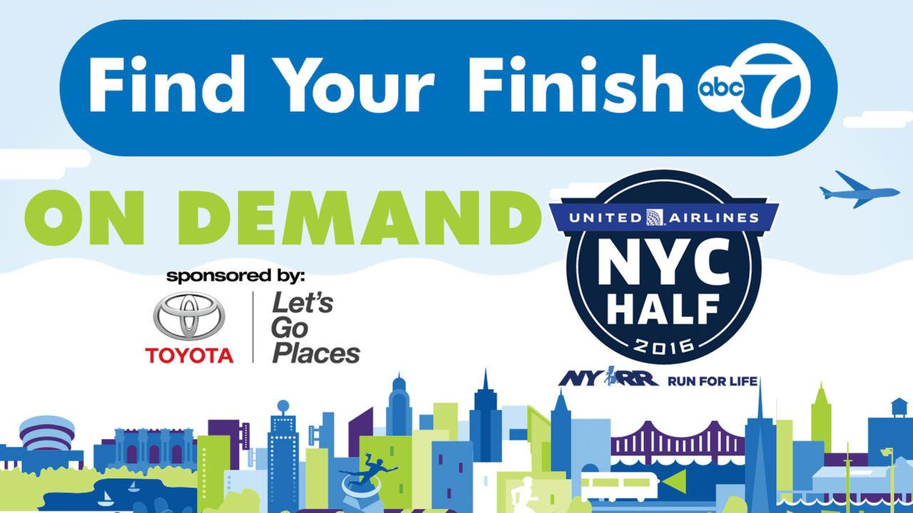 Find Your Finish on Demand: 2016 United Airlines NYC Half Marathon