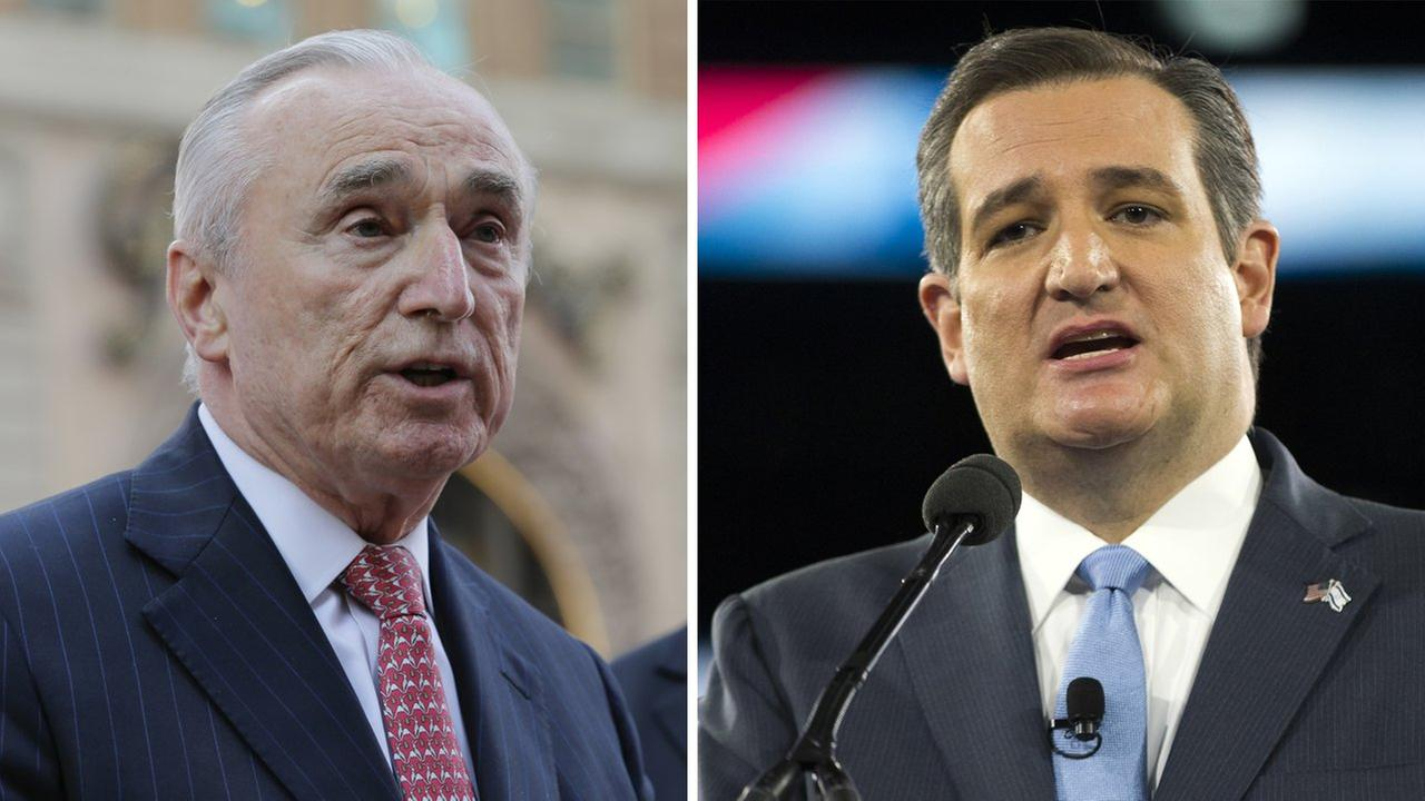 NYPD commissioner on Ted Cruz's Muslim remarks: 'He's really out of line'