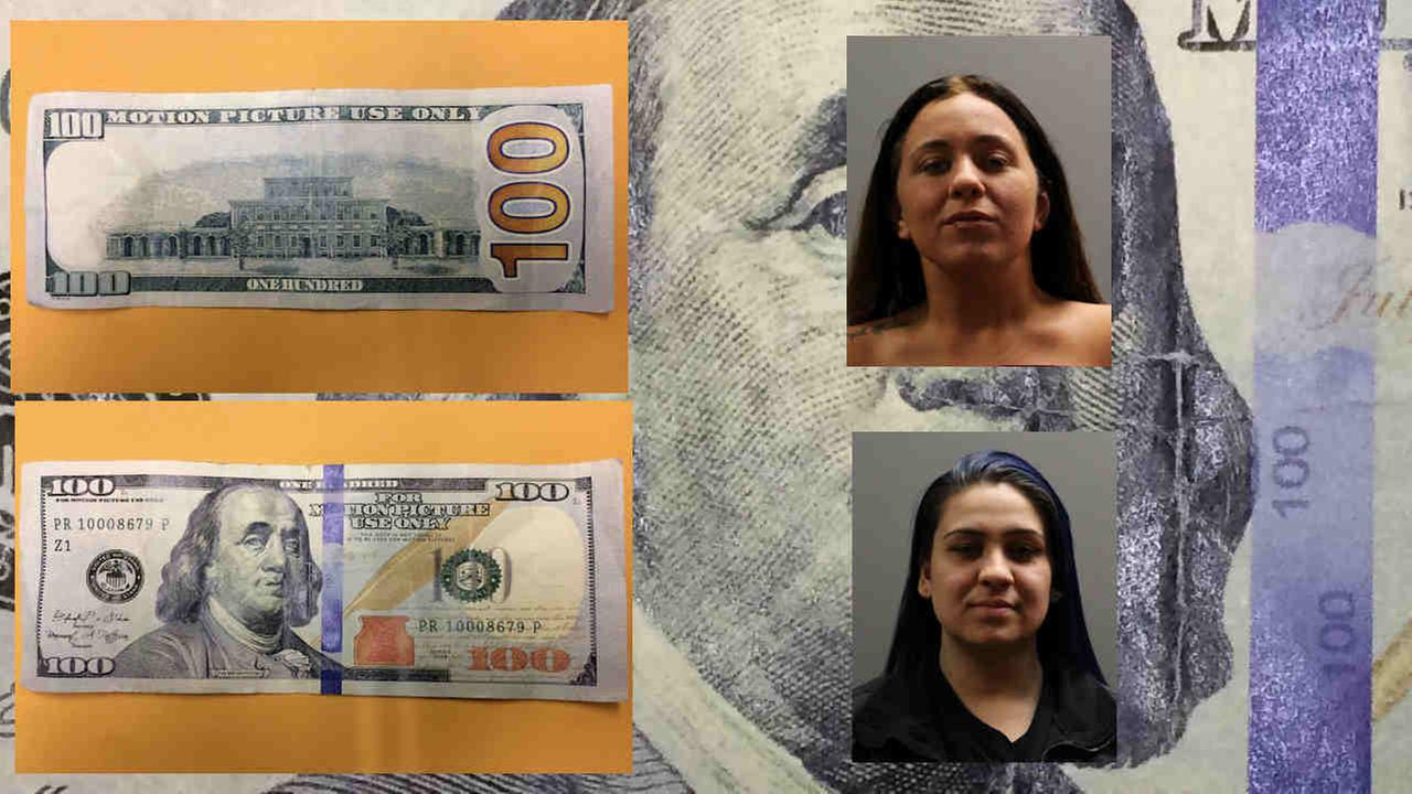 Women accused of trying to shop on Long Island with movie money