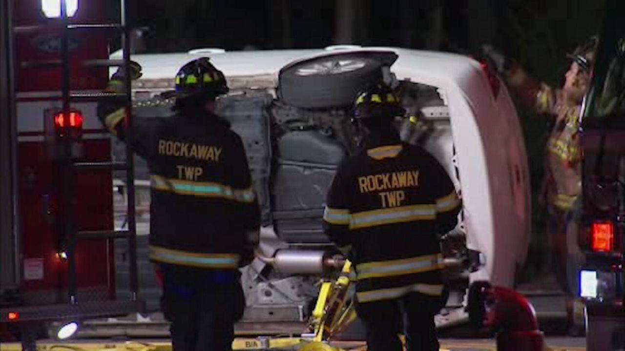 2-car crash in Rockaway, NJ, leaves 1 person in serious condition
