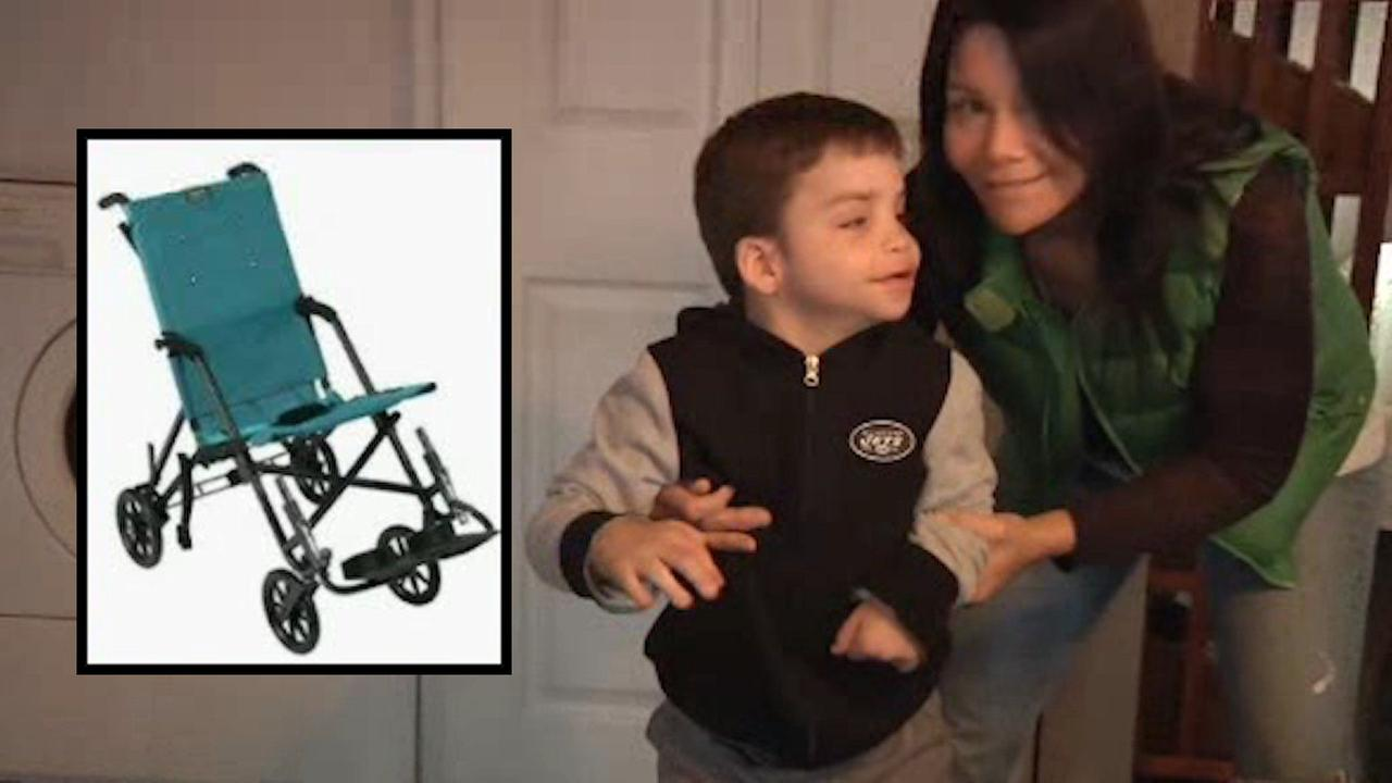 Wheelchair stolen from 10-year-old Holbrook boy with cerebral palsy